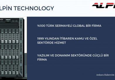 Alpin, Veri Merkezi Ekipmanları – Ankara