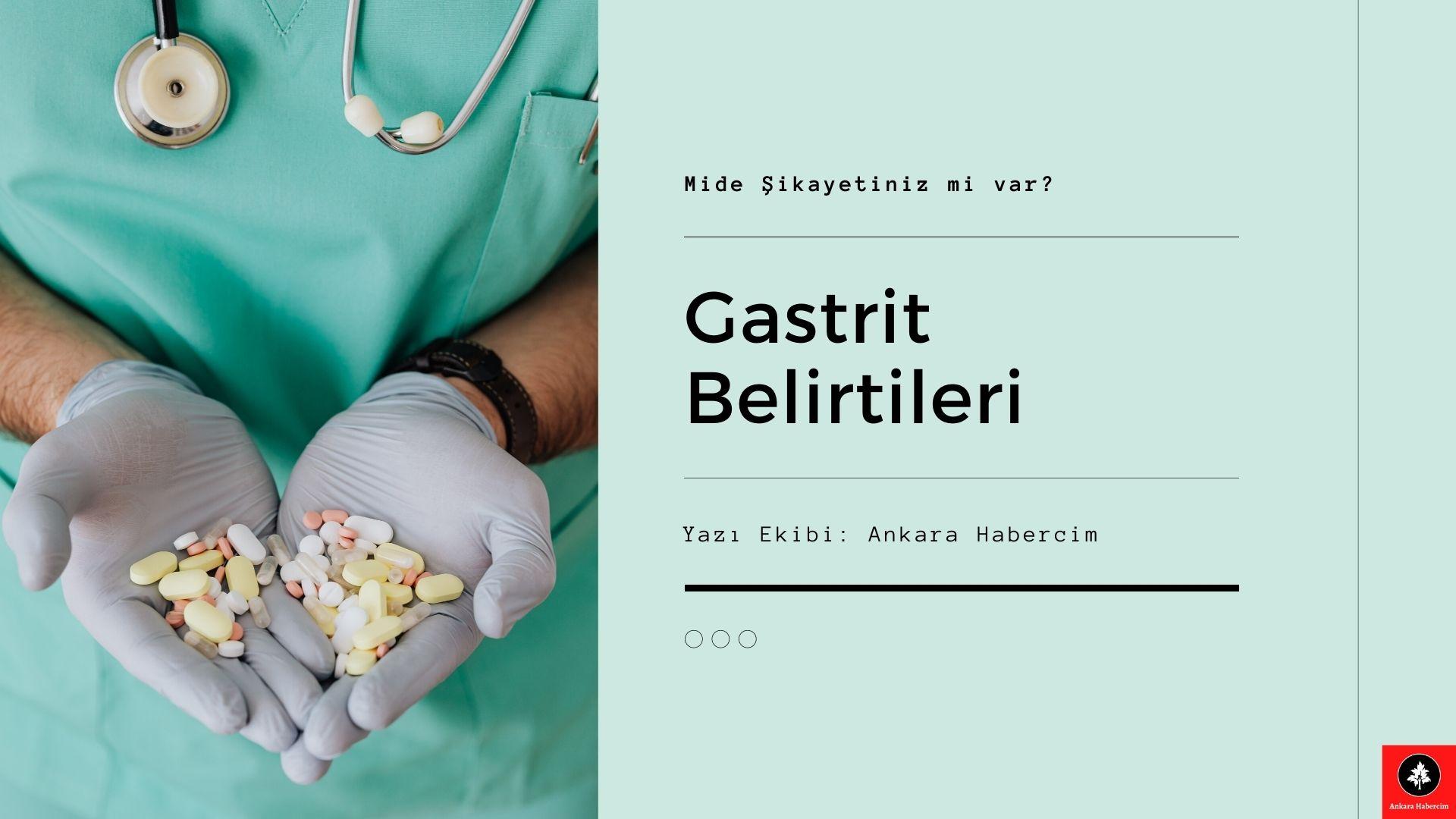 Gastrit Belirtileri