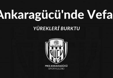 Ankaragücü'nde Vefat