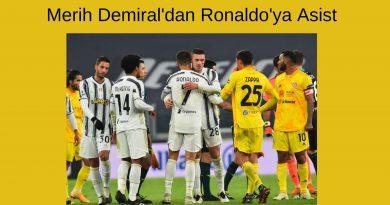 Merih Demiral'dan Ronaldo'ya Asist